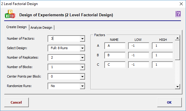Enter The Following De S To Create The 2 Level Design
