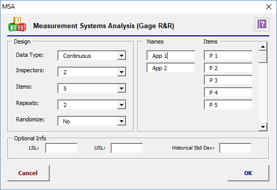 attribute gage r r excel template - sigma magic software free lean six sigma software